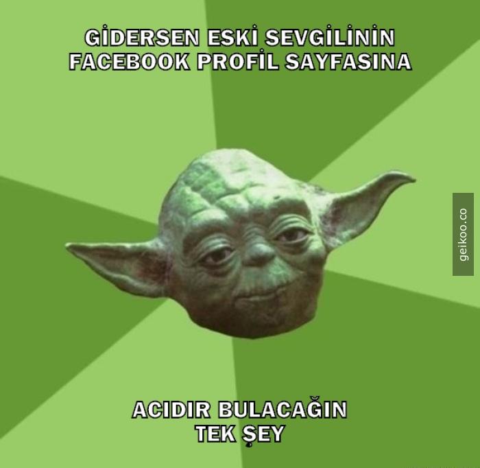 Usta Yoda'dan süper tavsiye
