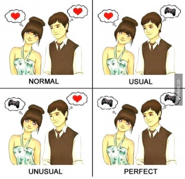 Mükemmel ilişki tanımı