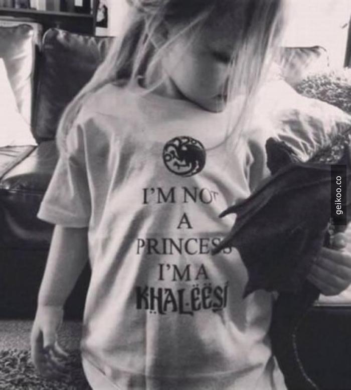 Khaleesi olacak çocuk