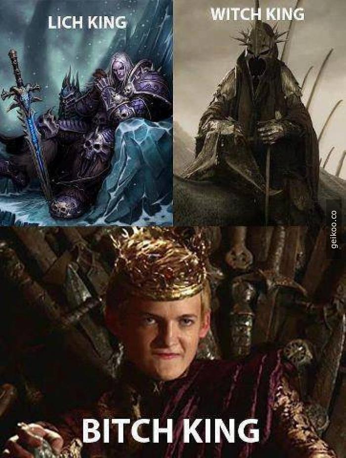 Çeşit çeşit kral var