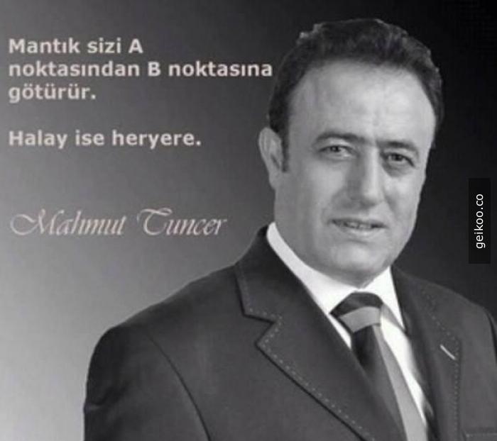 Ünlü Türk düşünürü Mahmut Tuncer