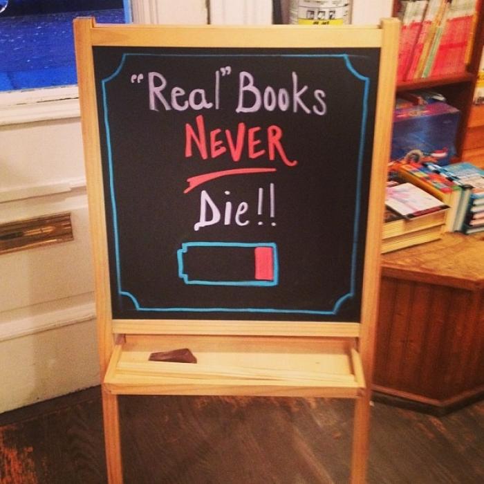 Kitapların bataryası asla bitmez