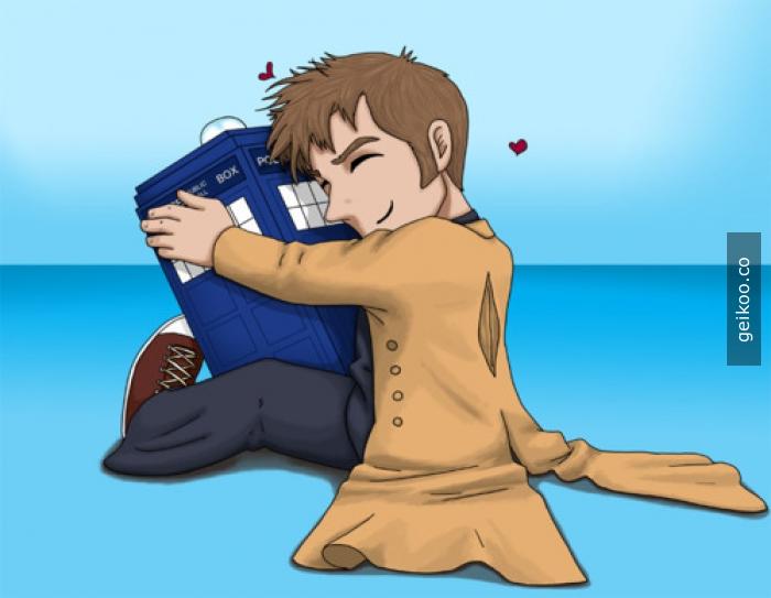 Doktor ve sevgili Tardis'i