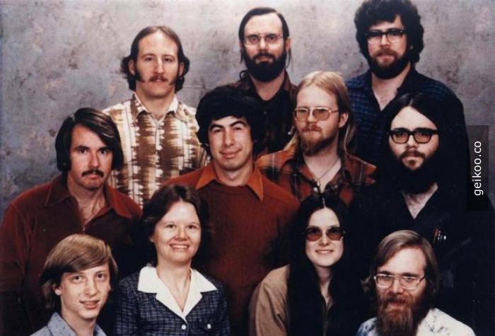 1978 Microsoft - Bill Gates'in tipi kes