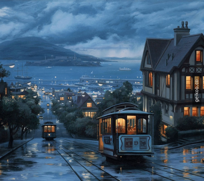 San Francisco akşamı