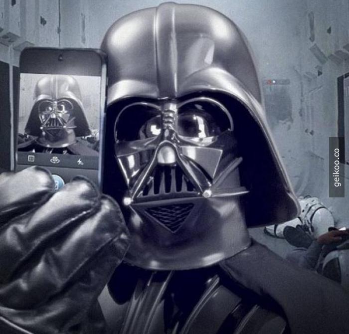 Selfie Vader