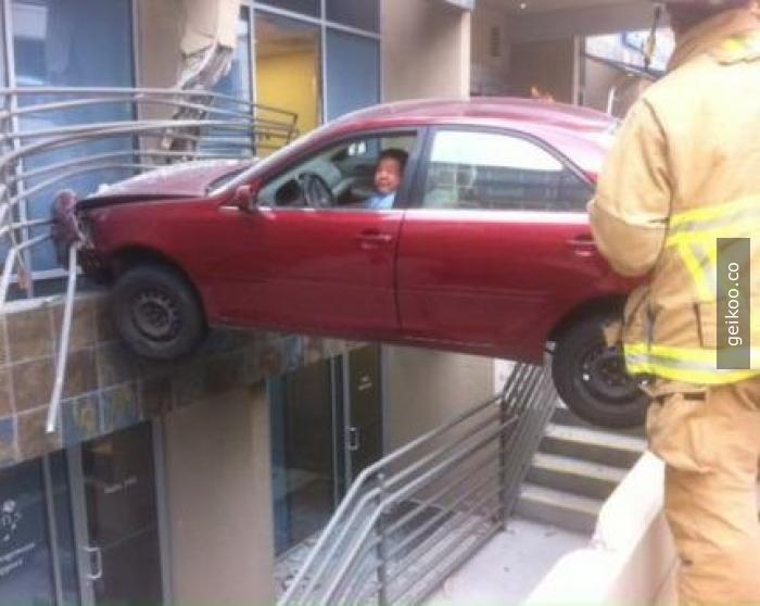 Ne var ? Buraya park edemez miyim ?