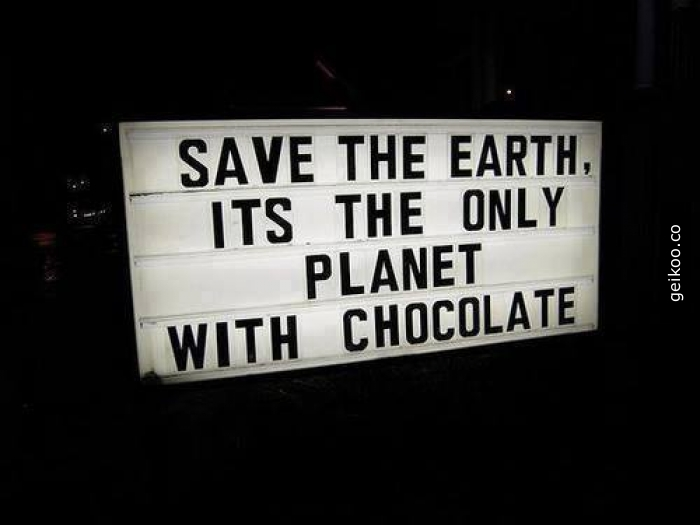 Çikolata olduğu kanıtlanmış tek gezegen dünyadır