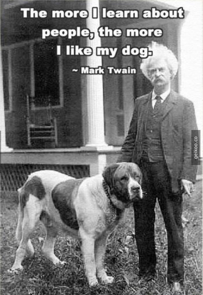 Mark Twain'den bilge bir söz