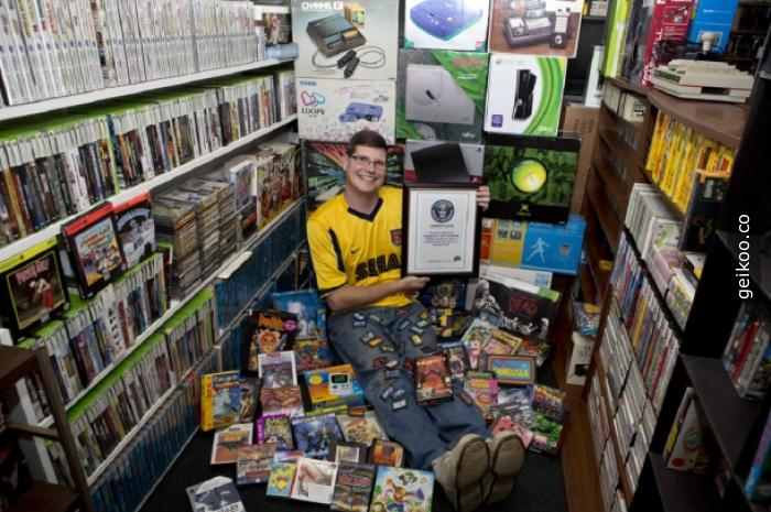 dünya'nın en büyük oyun koleksiyonu, 700.000 $ değerinde