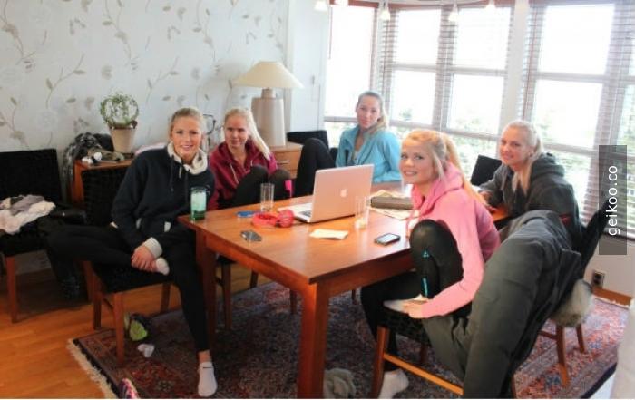 Şu meşhur Norveçli kızlarımızın ev halleri