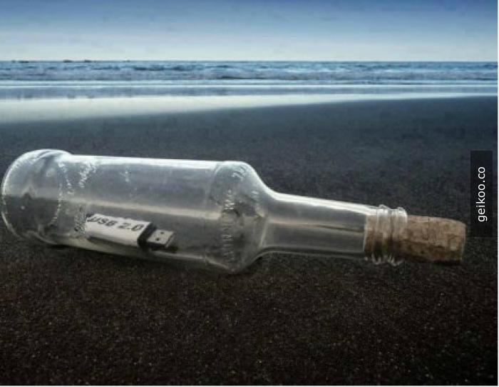 Eğer bu şişeyi bulursanız...