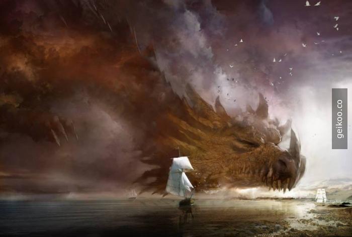 Daniel Dociu'dan süper bir ejderha çizimi