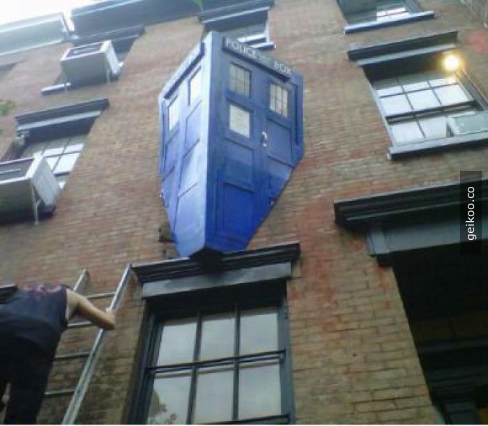 Evine dön TARDIS, sarhoşsun