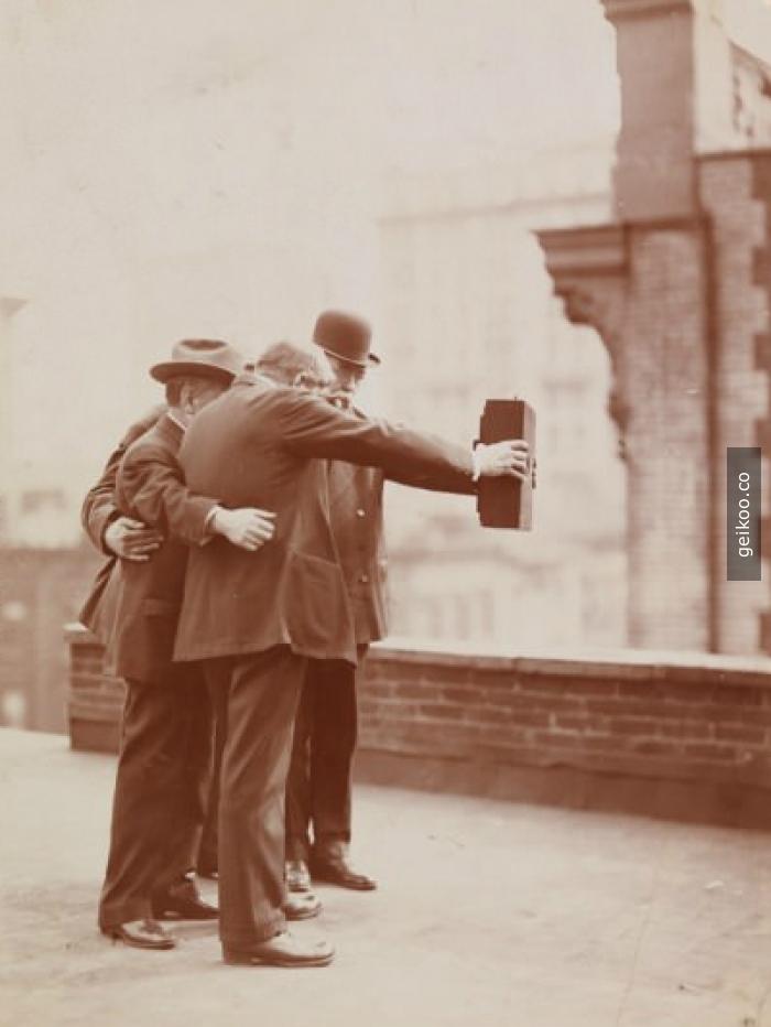 Tarihin ilk selfie'si