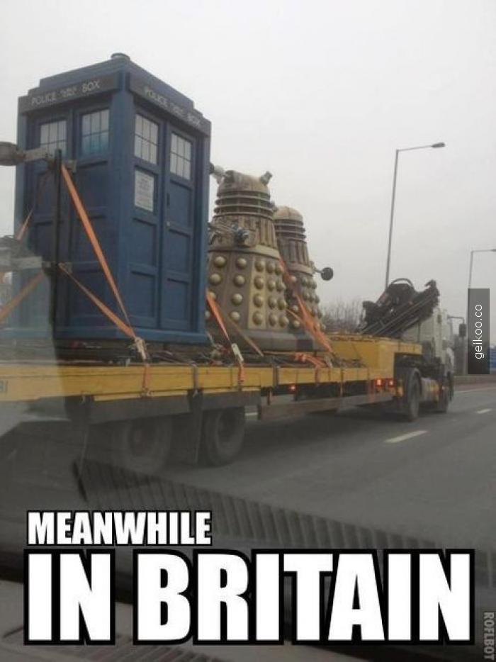 İngiltere'de sıradan bir gün