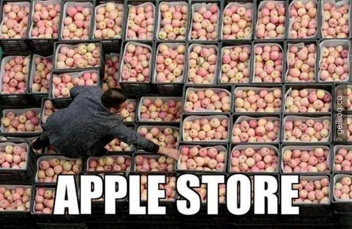 Apple Store Yeni Tasarımı
