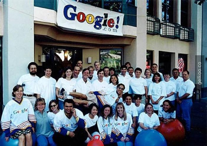 google'nin açılışı