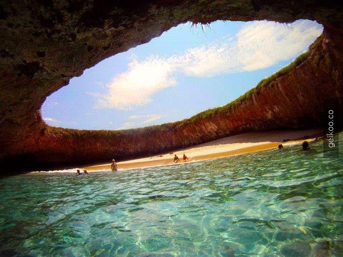 Meksika, Punta Mita Gizli Plajı