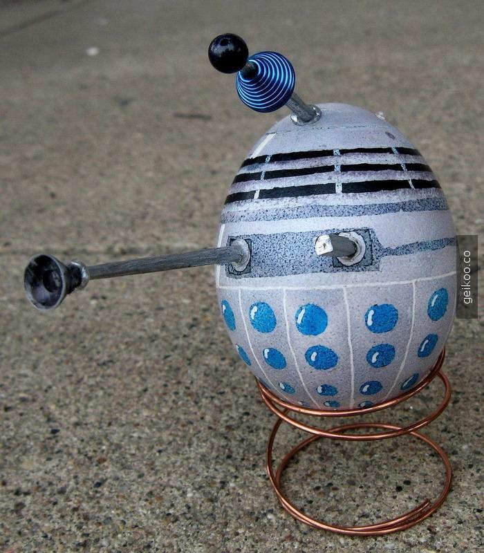 Bir Dalek der ki : Exterminate Exterminate Exterminate!!