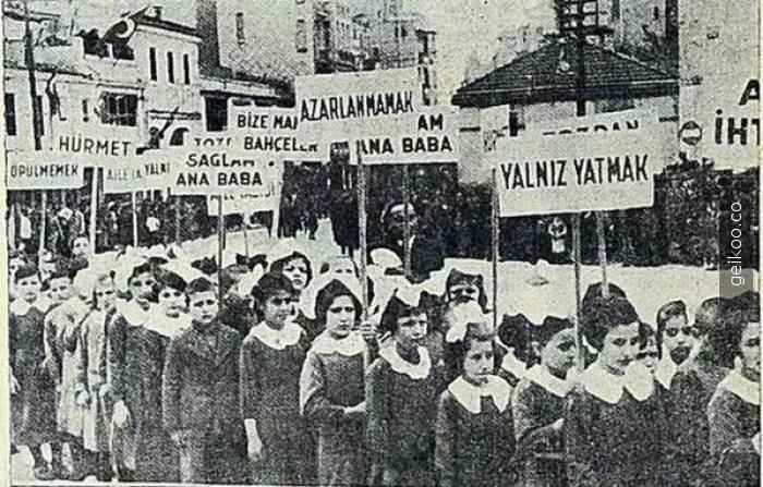 23 Nisan 1937, Taksim, Çocukların istekleri