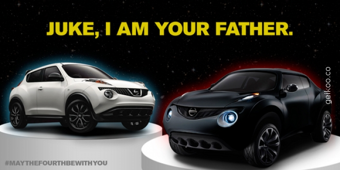 Nissan Star Wars gününü böyle kutladı