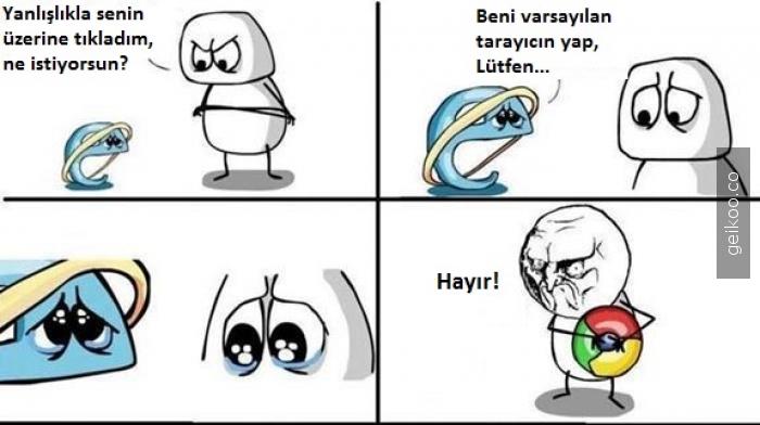 Bir Internet Explorer hikayesi