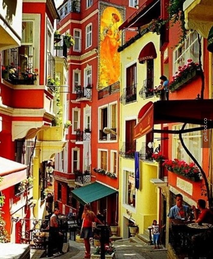 Fransız Sokağı/Cezayir Sokağı - İstanbul/Türkiye