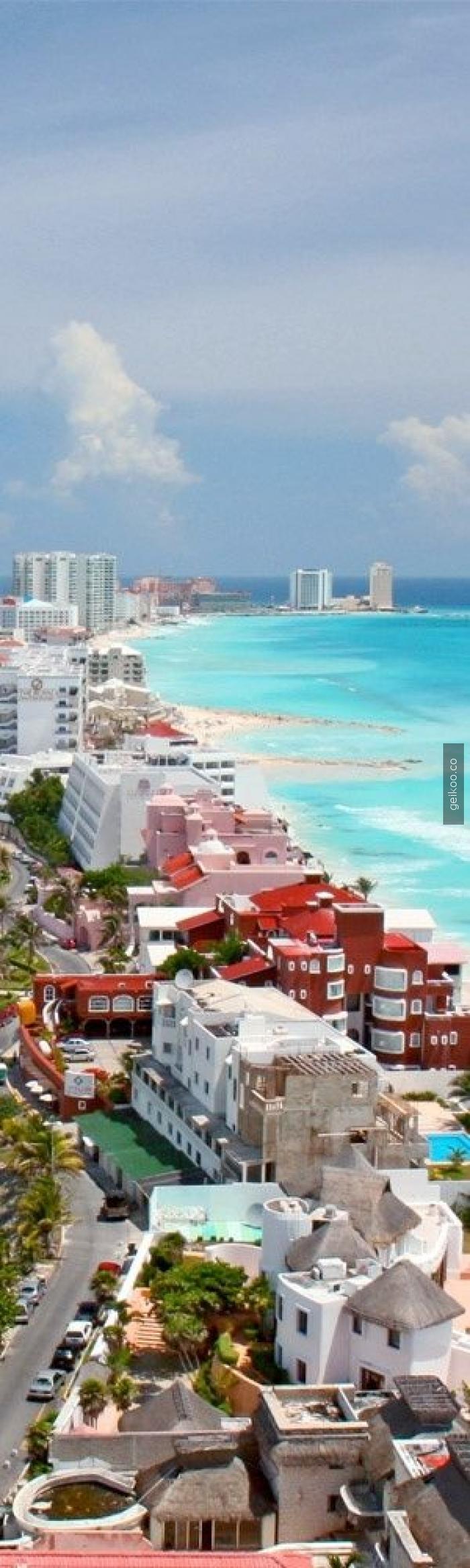 Cancun Plajı - Meksika
