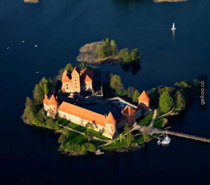 Litvanya'da bir ada