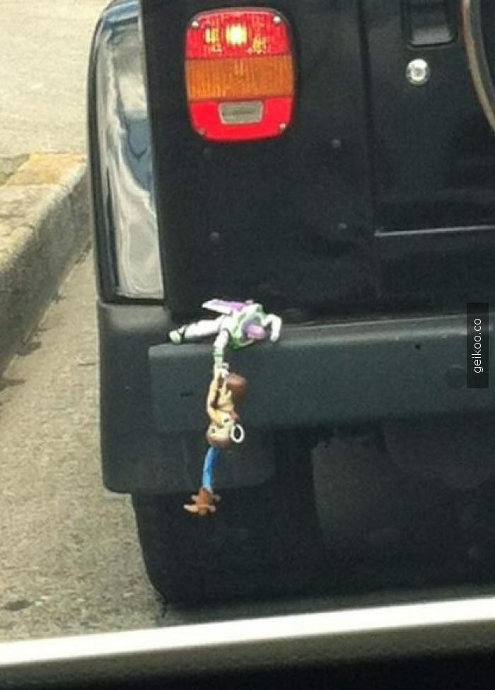 Toy Story, Woody ve Buzz