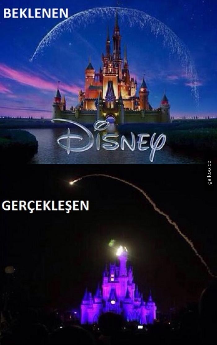 Disney: Beklenen - Gerçekte olan