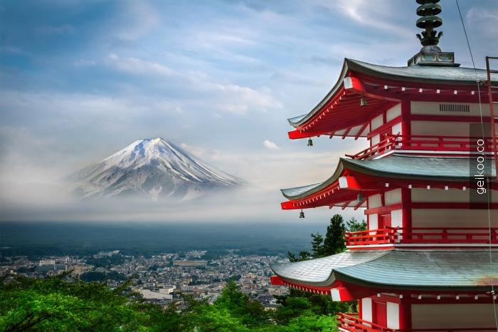 fuji dağı-japonya