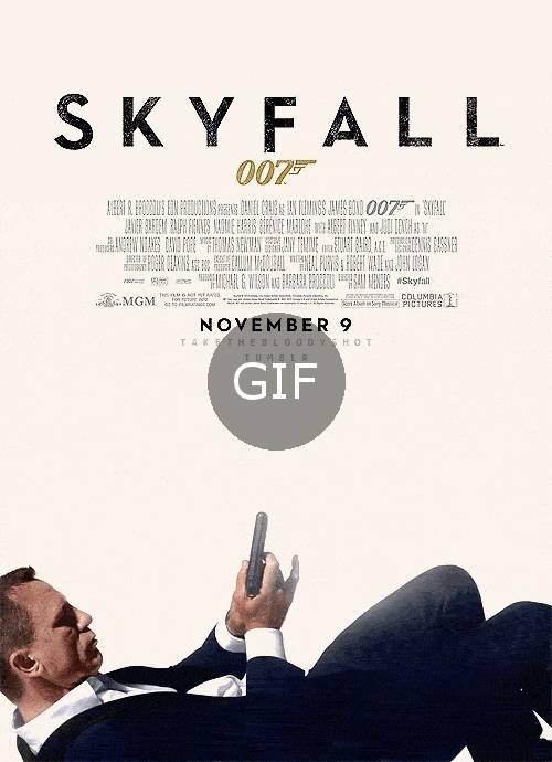 skyfall film afişi