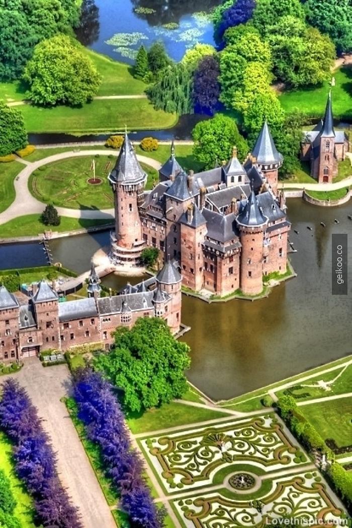 Kasteel de Haar, Hollanda