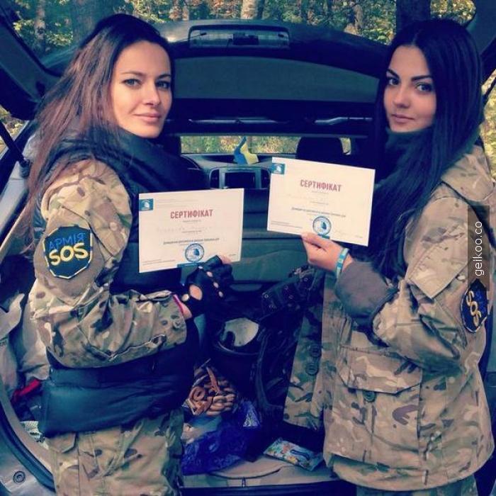 Ukrayna ordu gönüllüleri