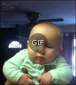 Öpülmekten hoşlanmayan bebek