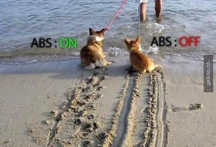 ABS farkı