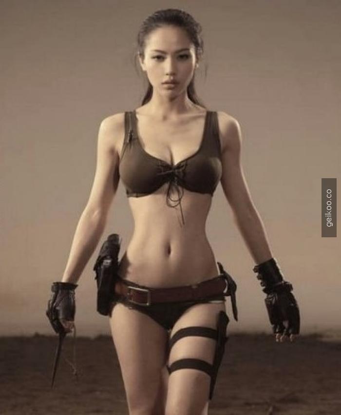 Çinli Lara Croft