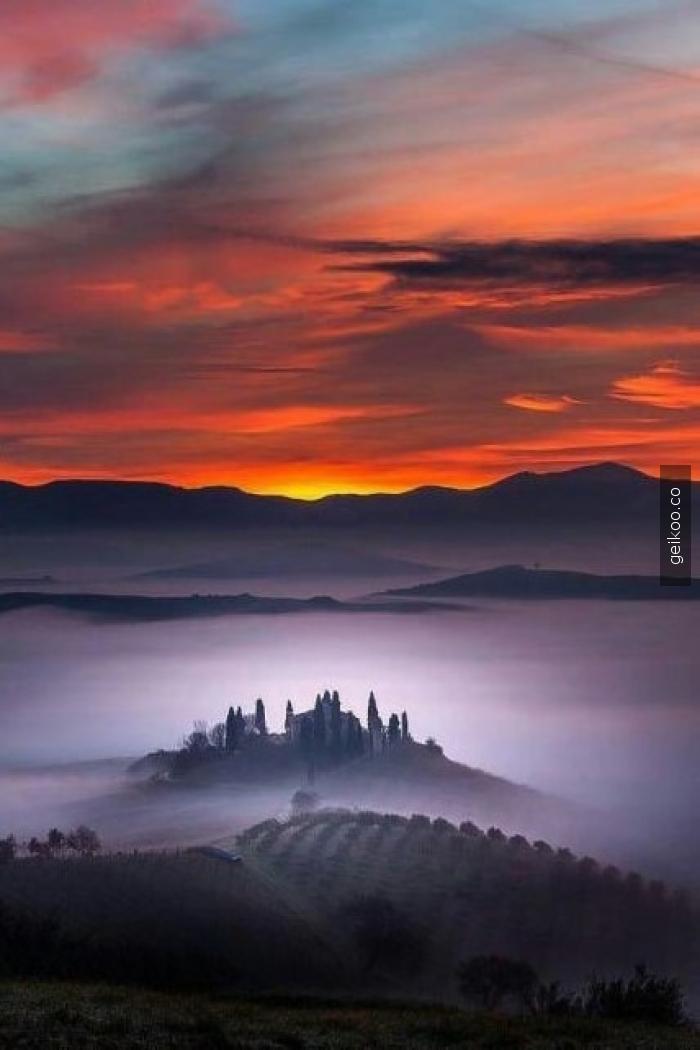 İtalya'da bir sabah
