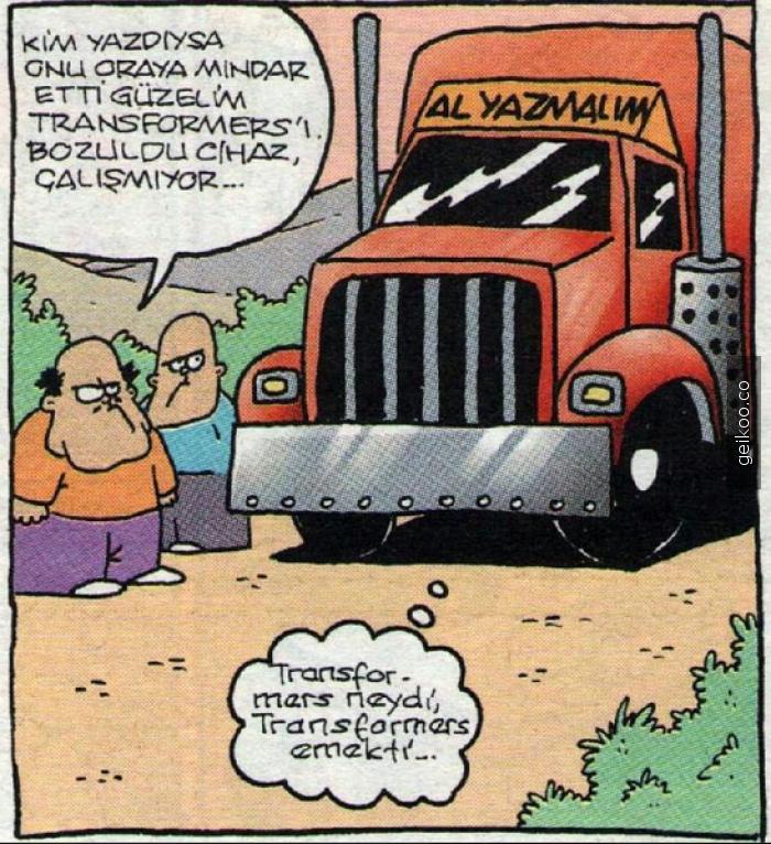 transformers neydi?
