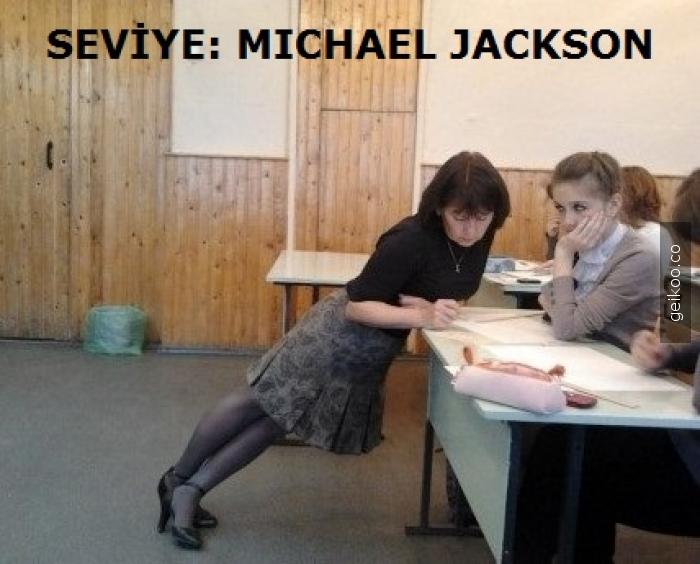 Öğretmenlik seviye: Michael Jackson