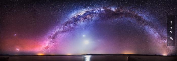 galaksiye bir bakış