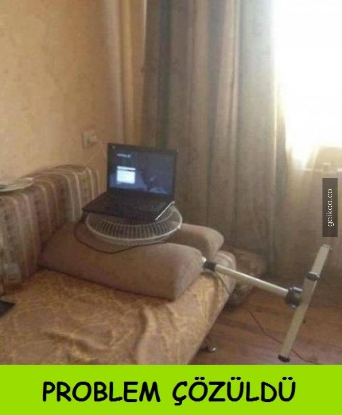 Laptop soğutucu problemi çözüldü