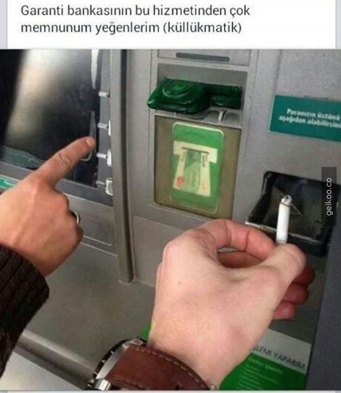 garanti bankasının yeni hizmeti