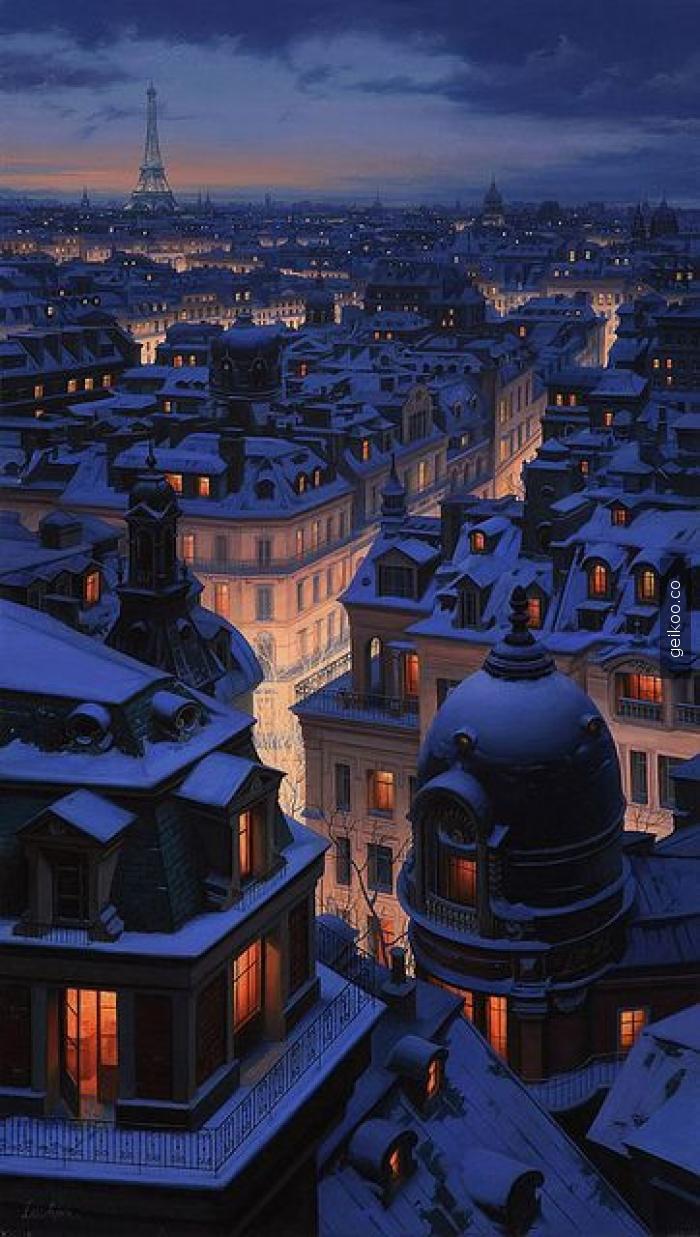 paris akşamı