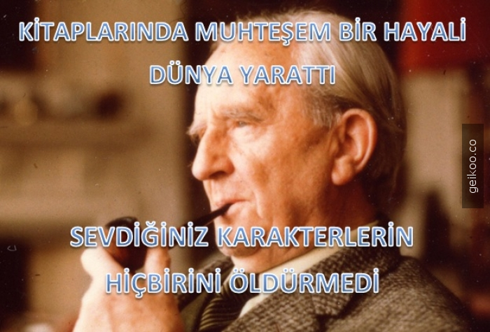 Yazarın dibi Tolkien