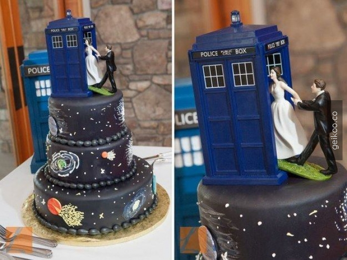 whovian evlilik pastası