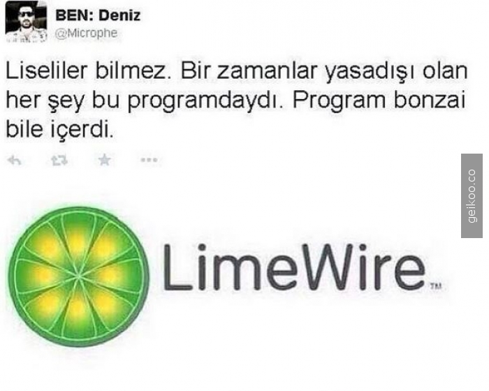 Limewire gerçeği