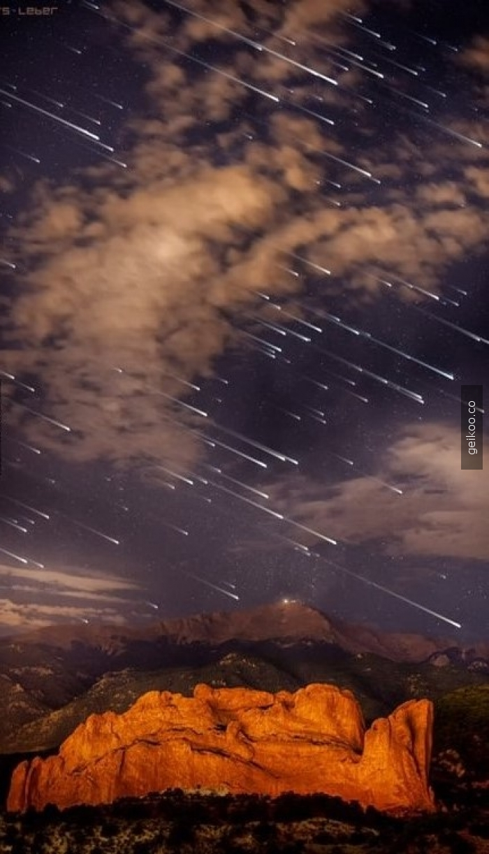Colorado'da meteor yağmuru